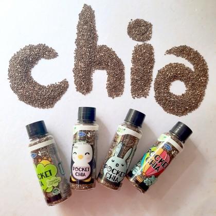 Organic Pocket Chia 4 in 1 (28g x 4)