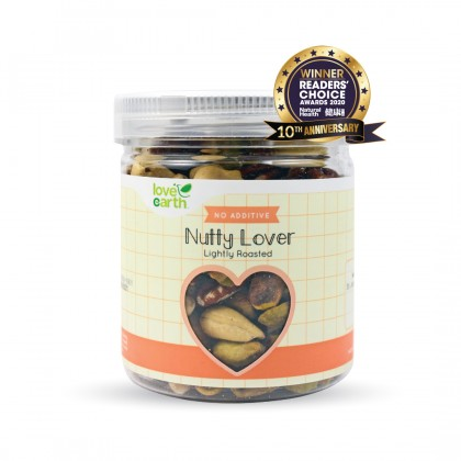Lightly Roasted Nutty Lover 140g