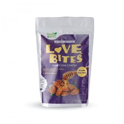 Love The Bites Honey Chia Coated Almond 40g (Buy 1 Free 1)