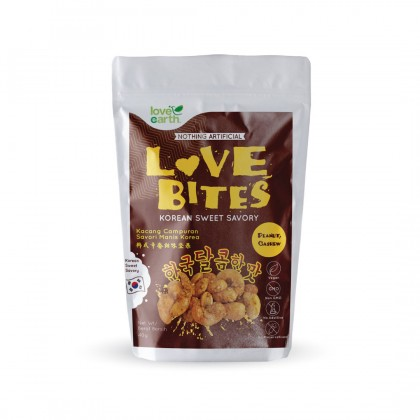 Love The Bites Korean Sweet Savory 40g (Buy 1 Free 1)