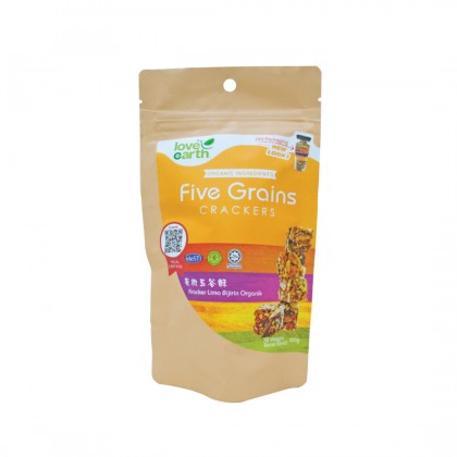 Five Grain Cracker 100g