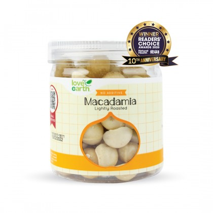 Lightly Roasted Macadamia 150g