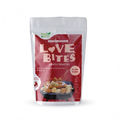 Love The Bites Lightly Roasted Almond + Cashew 40g