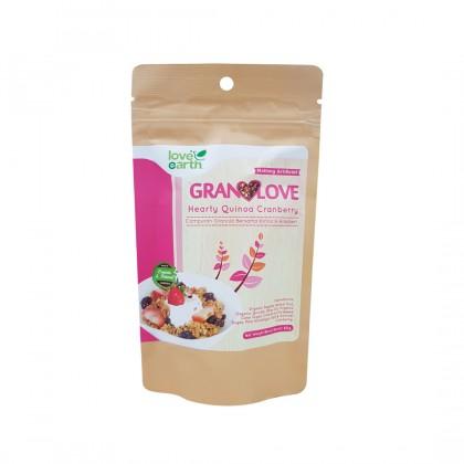 Granolove Hearty Quinoa Cranberry 80g
