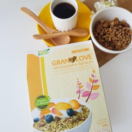 Granolove Wholesome Apricot 300g