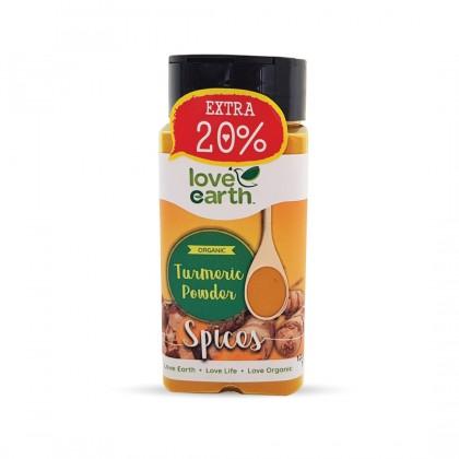Organic Turmeric Powder 60g (Extra 20%)