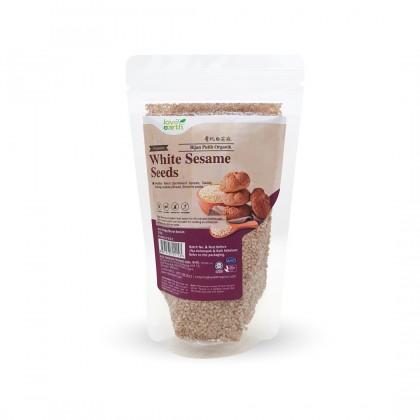 Organic Dehulled White Sesame 200g