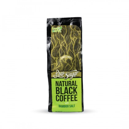 Black Coffee with Bamboo Salt 10g x 15servings