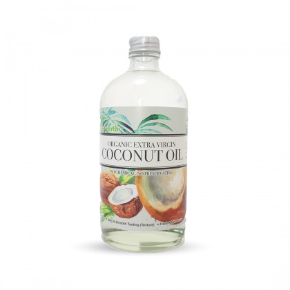 Organic Extra Virgin Coconut Oil 480ml