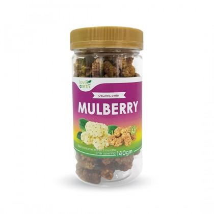 Organic Dried Mulberry 140g