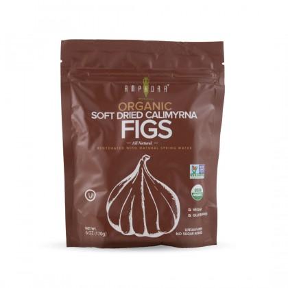 Amphora Organic Soft Dried Calimyrna Figs 170g