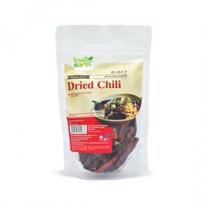 Organic Dried Chilies 80g