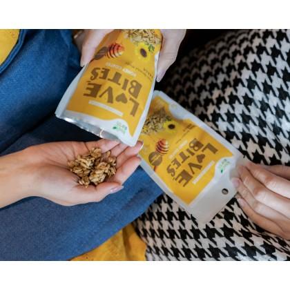 Love The Bites Honey Coated Sunflower Seed 40g