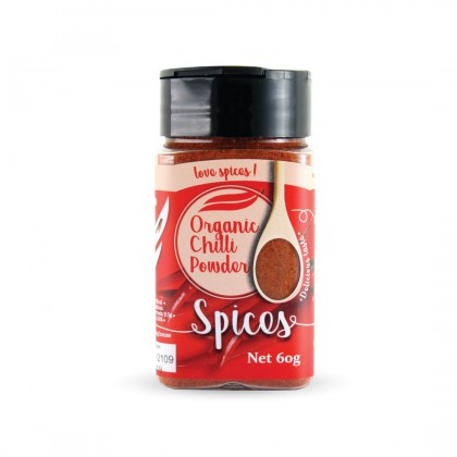 Organic Chili Powder 60g