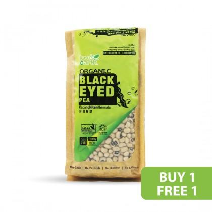 Organic Black Eyed Pea 500g (Buy 1 Free 1)