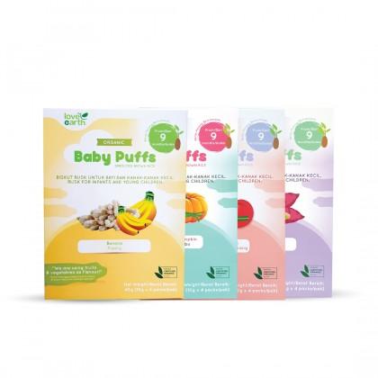Organic Baby Puff (10g x 4 Serving)
