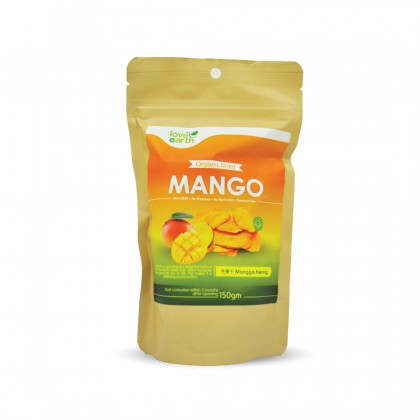 Organic Dried Mango 150g